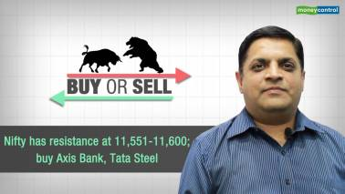 Nifty has resistance at 11,551-11,600