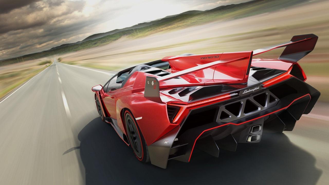 Lamborghini Veneno | $4.5 million | Units produced: 5 coupes, 9 roadsters | 0-60 mph: 2.8 seconds | Top speed: 221 mph (Image: Lamborghini)