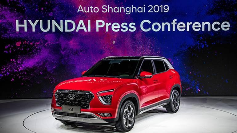 Image result for 2020 Hyundai Creta unveiled at 2019 Shanghai Motor