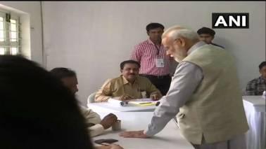 59% voter turnout till 5 pm in Gujarat; PM Modi, Shah cast vote