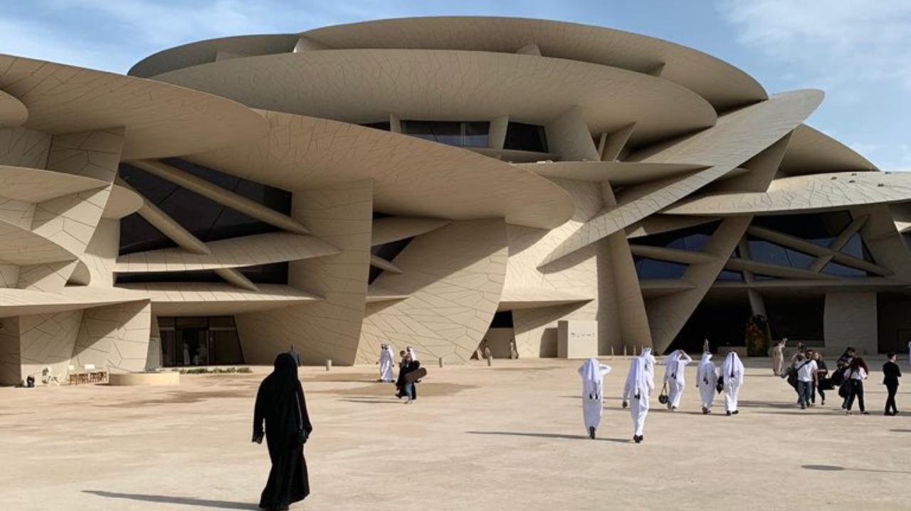 The site of the museum was once the palace of Sheikh Abdullah bin Jassim al-Thani — son of the founder of modern Qatar. (Image: Twitter)