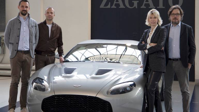 Aston Martin revives the Vantage V12 Zagato