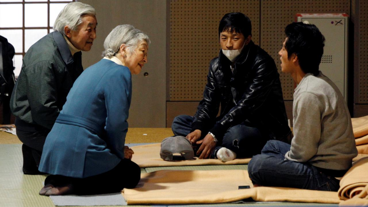 Emperor Akihito, who first ascended the throne in 1989, has been credited with turning around Japan's post-war reputation. Traditionally, the Imperial Family was known to have limited their interaction with common folk. He broke a long-standing custom in 1991 when he and the empress knelt down to speak with people affected by a volcanic explosion in Nagasaki. (Image: Reuters)