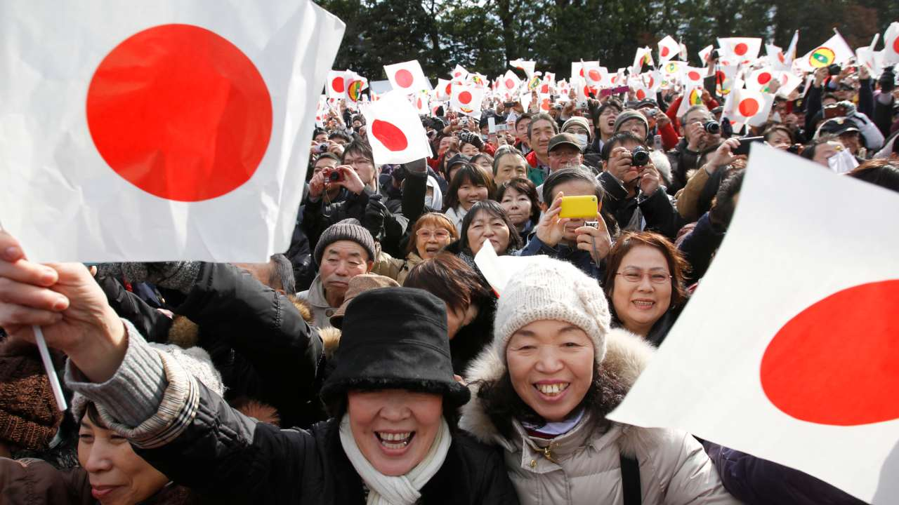 The handover will be marked by a record 10-day extension to the Golden Week break , which is Japan's annual spring holiday. (Image: Reuters)