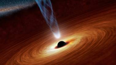 Scientists expected to release landmark image of black hole