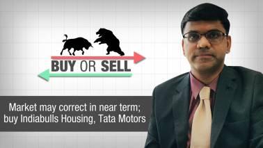 Buy Or Sell | Market may correct in near term; buy Indiabulls Housing, Tata Motors