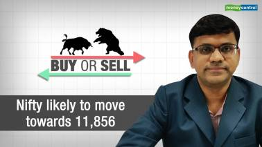 Nifty likely to move towards 11,856