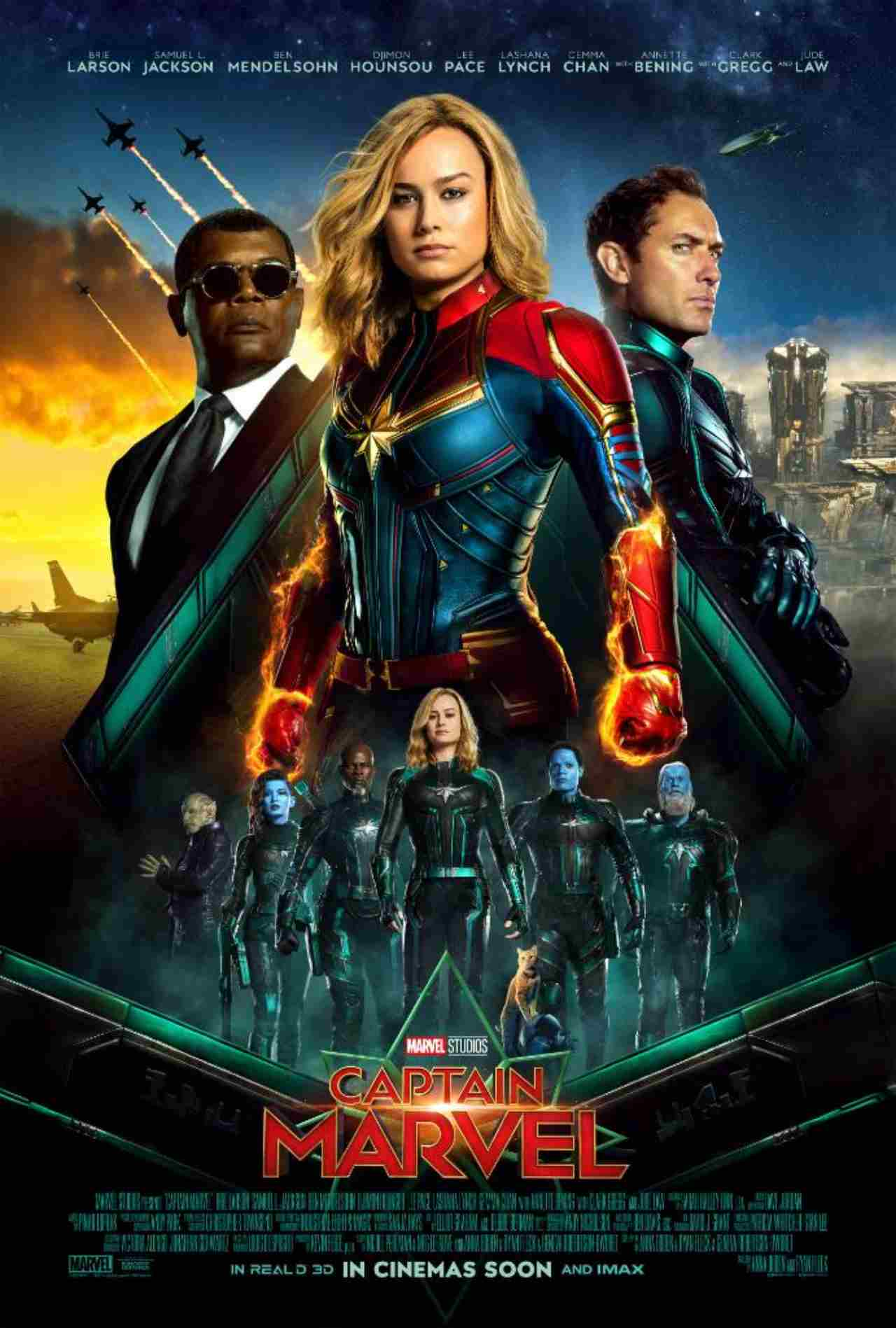 Captain Marvel | Box Office: Rs 85 crore (expected) | Marvel films have a strong audience base in India and that was evident in the recent release - Captain Marvel, which opened huge at Rs 13.01 crore. This was in fact the second biggest opening ever for a Hollywood film in India after Avengers: Infinity War. The movies wasn't warmly received by one and all but still managed to hang on well to go pass the Rs 80 crore mark. (Image: Captain Marvel/Twitter)