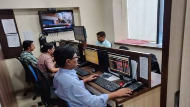 Week in 5 charts: Late surge helps Nifty close above 11,400 amid elections, Q4 earnings; rupee falls