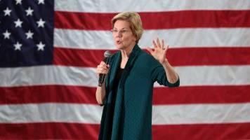 'Another economic downturn' in 2019-20, US Presidential candidate Elizabeth Warren warns
