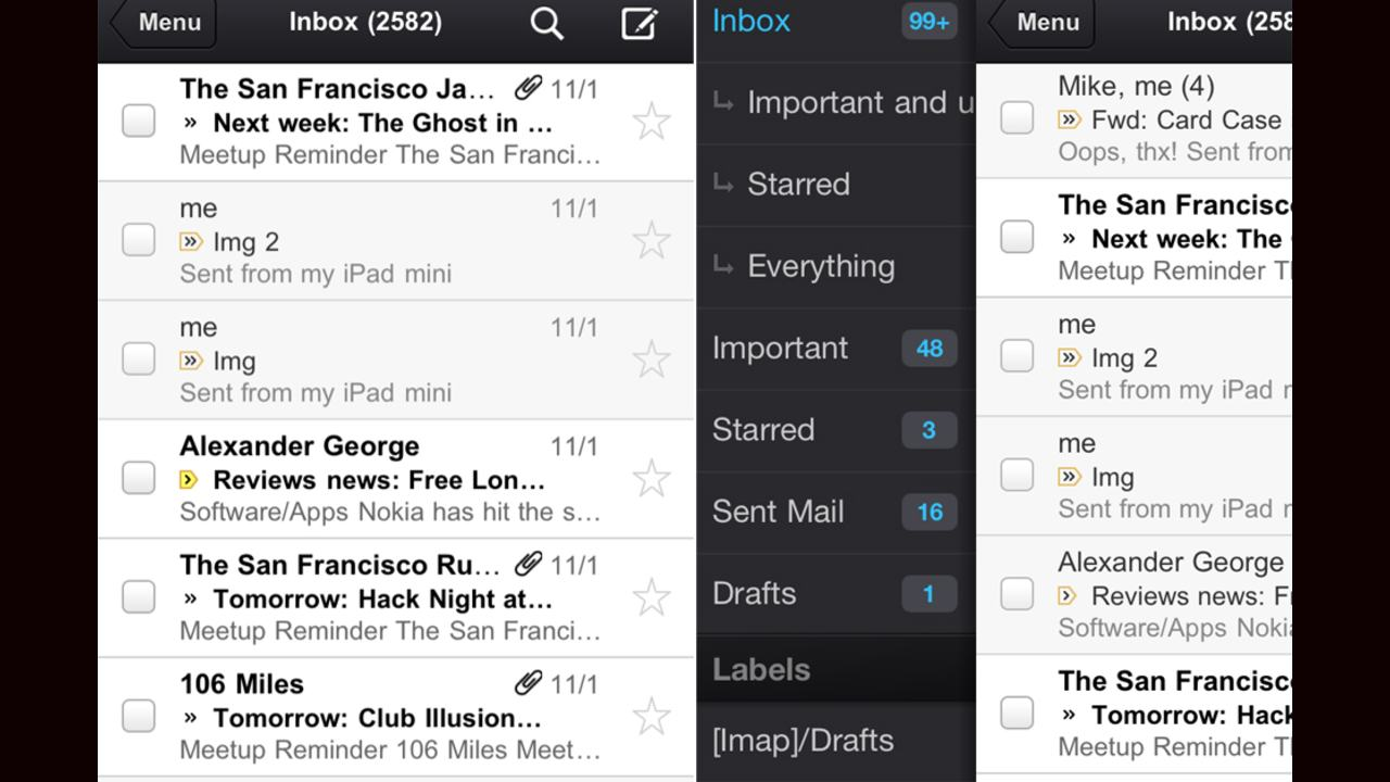 2011| Priority inbox makes prioritizing makes easy | Gmail gets new look | Google launches Gmail app for iOS.