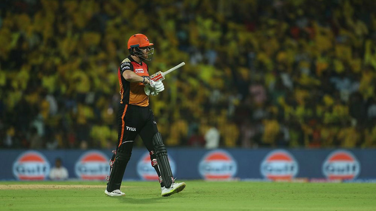 Put into bat SRH were off to an inauspicious start as their opener Jonny Bairtstow was dismissed for not in just the second over by CSK spinner Harbhajan Singh.
