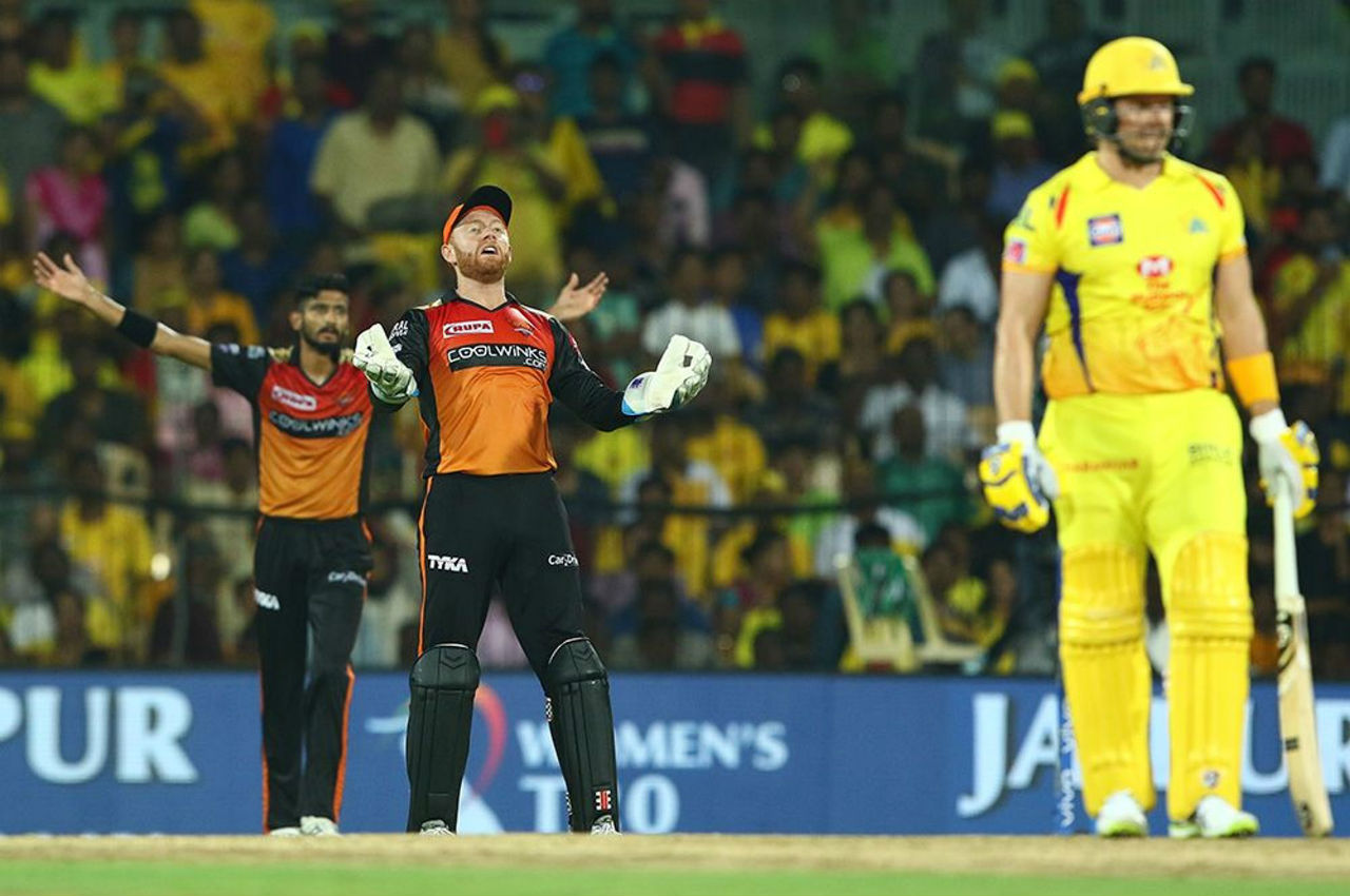 Watson was out in the 18th over as he looked to pull a delivery from Bhuvneshwar. By then the damage had be done for SRH. Watson made 96 off 53 balls as CSK were 160/3.