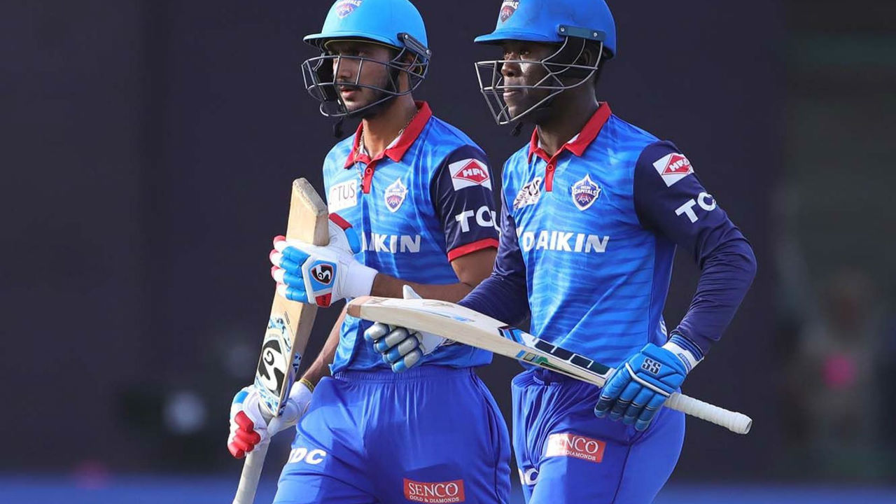 Sherfane Rutherford and Axar Patel however had other ideas as the two batsmen hit 28 off 13 and 16 off 9 respectively. Thanks to late flourish, DC ended with a competitive total of 187/5 in 20 overs.