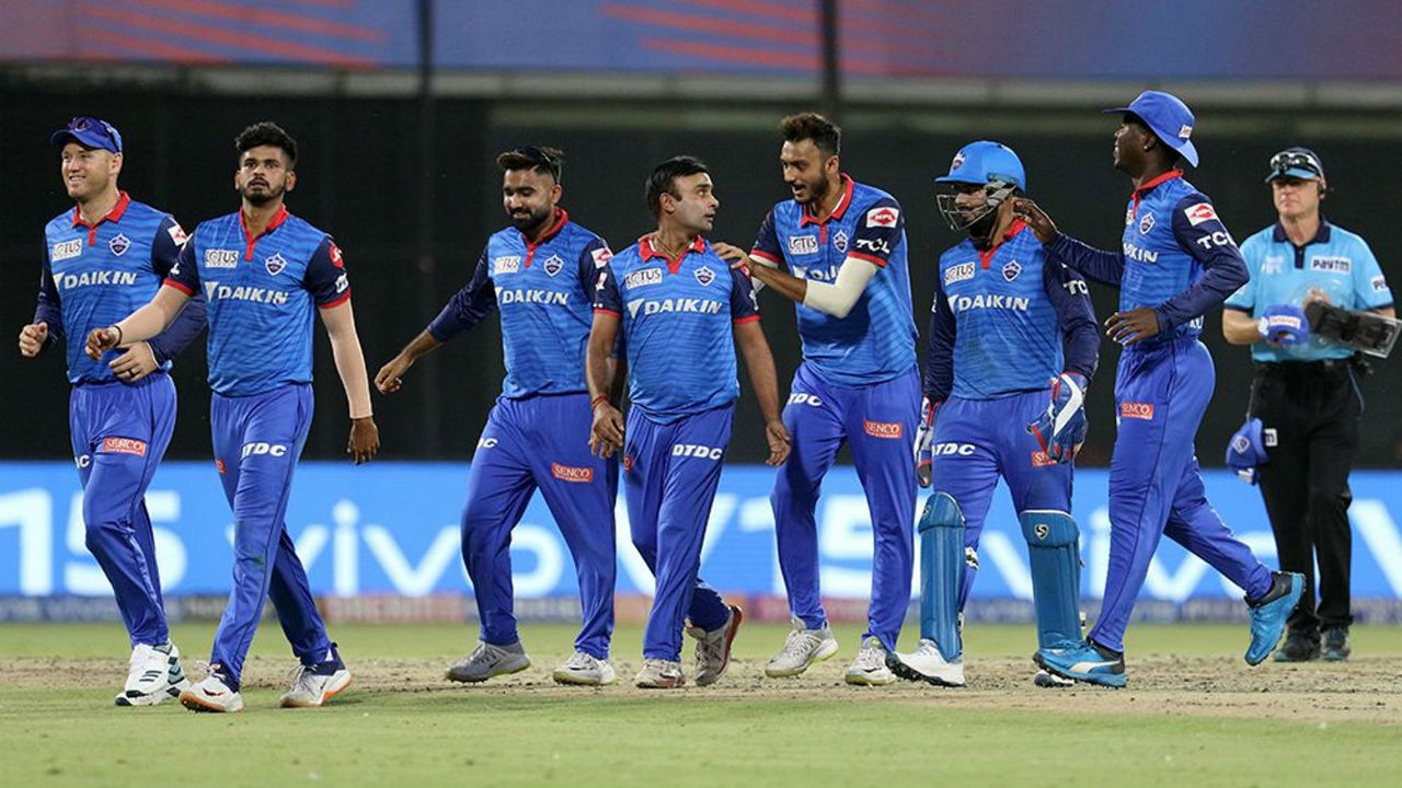 At the start of the last over RCB needed 26 runs but they managed just 9 runs as DC won the match by 16 runs.
