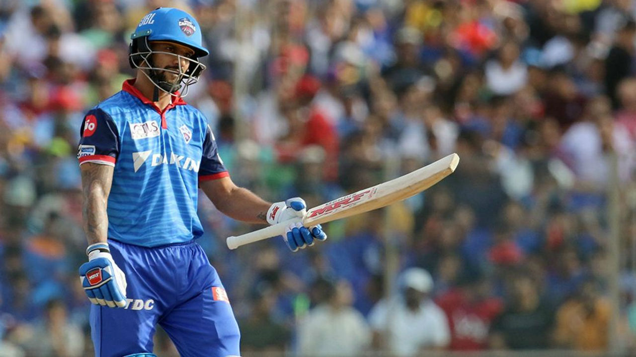 The 68-run partnership between Dhawan and Shreyas ended when the DC opener was dismissed in the 13th over by RCB spinner Yuzvendra Chahal. Dhawan made 50 off 37 balls. DC were 103/2.