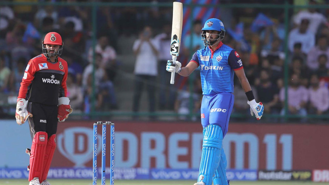 Shreyas completed his fifty in the 15th over when he hit a delivery from Chahal out of the park for a six.