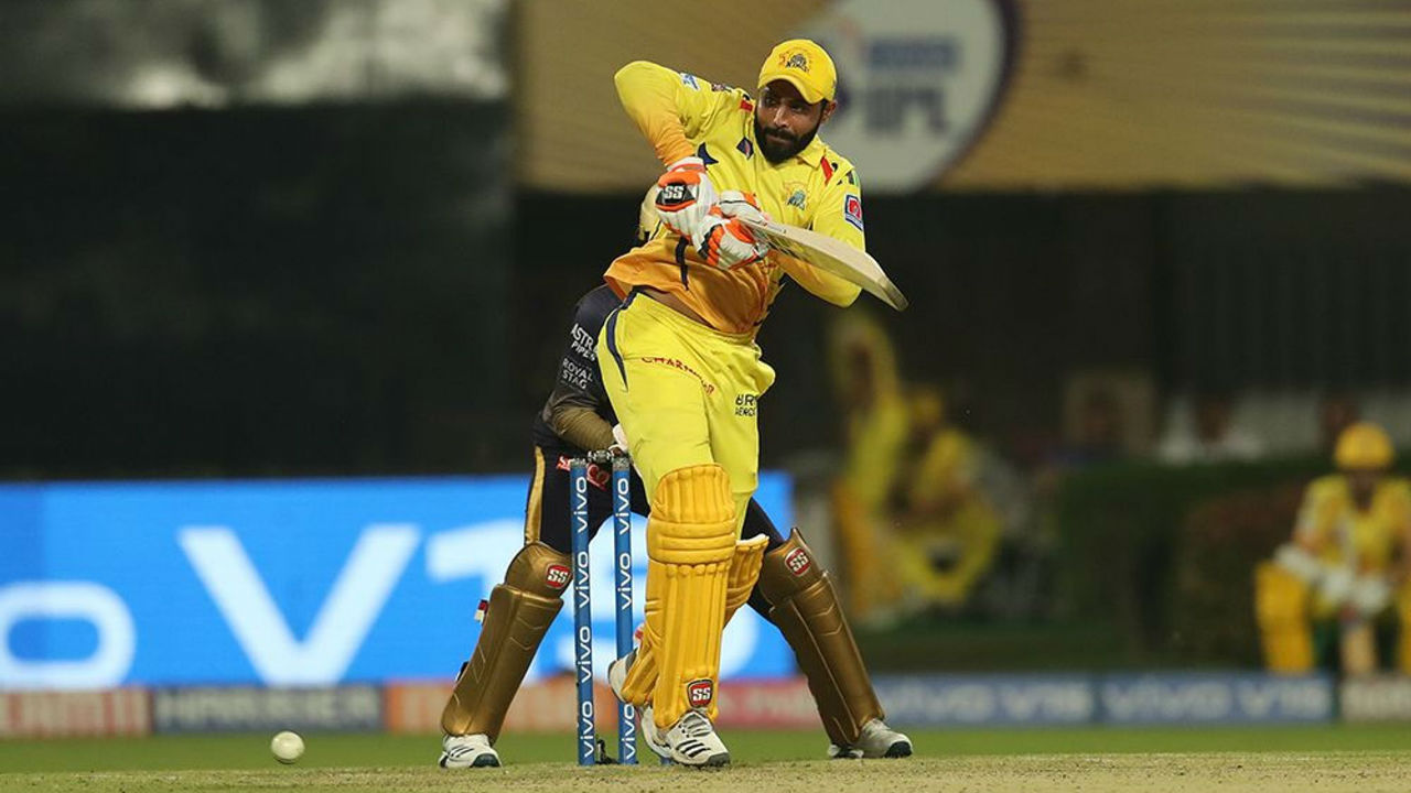Ravindra Jadeja played a cameo of 31 off 17 balls as CSK cruised to win in 19.4 overs.