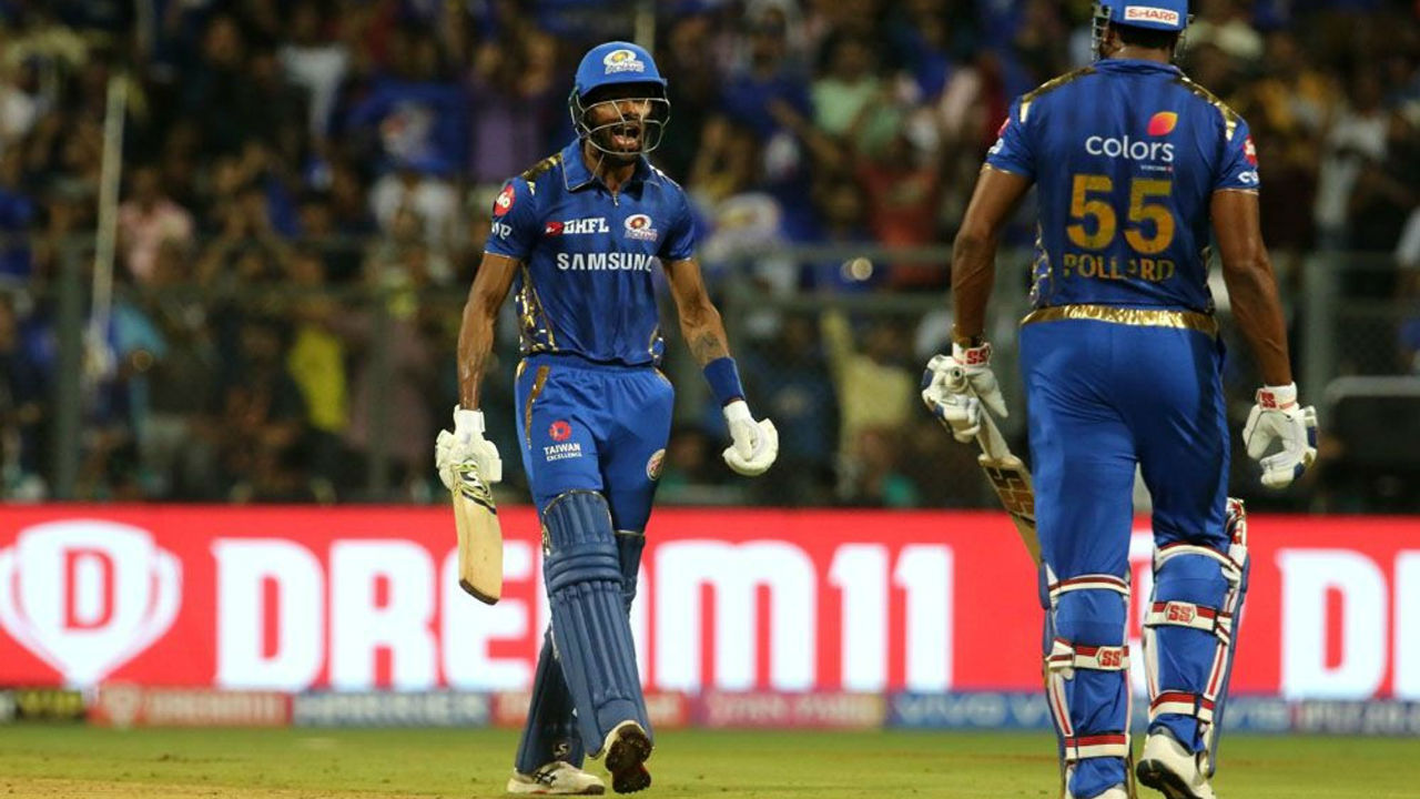 MI ended their inning on a high as Hardik Pandy and Kieron Pollard hammered quick runs in final few overs. Hardik remained unbeaten on 25 off 8 balls while Pollard made 17 in juts 7 delivers. MI finished on 170/5.