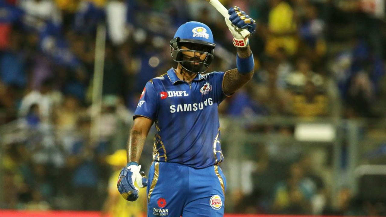 Suryakumar completed his first fifty of the season in the 17th over as he hit a delivery from Mohit to deep mid-wicket for a maximum. The middle-order batsman got out in the next over trying to play a big shot against Dwayne Bravo geeing caught by Jadeja in the deep.