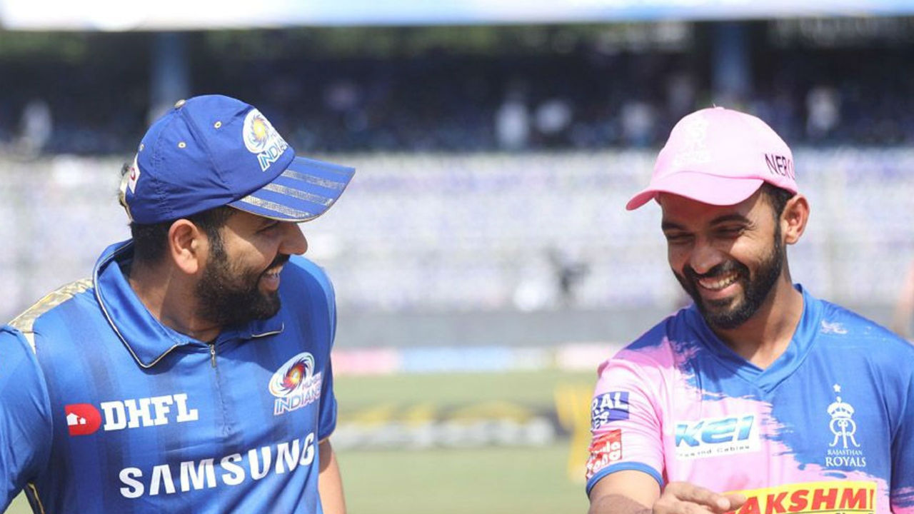 Rohit Sharma was back for Mumbai Indians as they faced off Rajasthan Royals in match 27 of IPL 2019 at the Wankhede Stadium. RR captain Ajinkya Rahane won the toss and opted to bowl first.