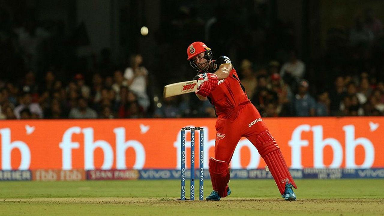 IPL 2019 RCB vs KXIP AB de Villiers 50