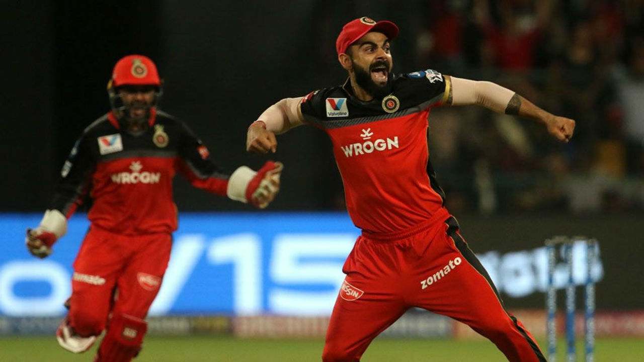 There was joy and relief for Kohli as Umesh Yadav dismissed Gayle on the second ball of the fourth over. Gayle made 23 from 10 balls as KXIP were 42/1.