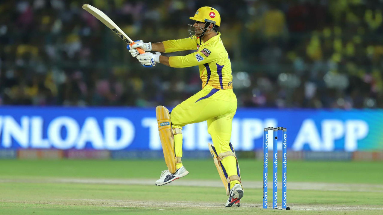 Dhoni completed his fifty in the 19th over as he worked a ball from Jofra Archer for 2 runs. Dhoni's and Rayudu's partnership took the chase for CSK into the last over with the team needing 17 runs to win.