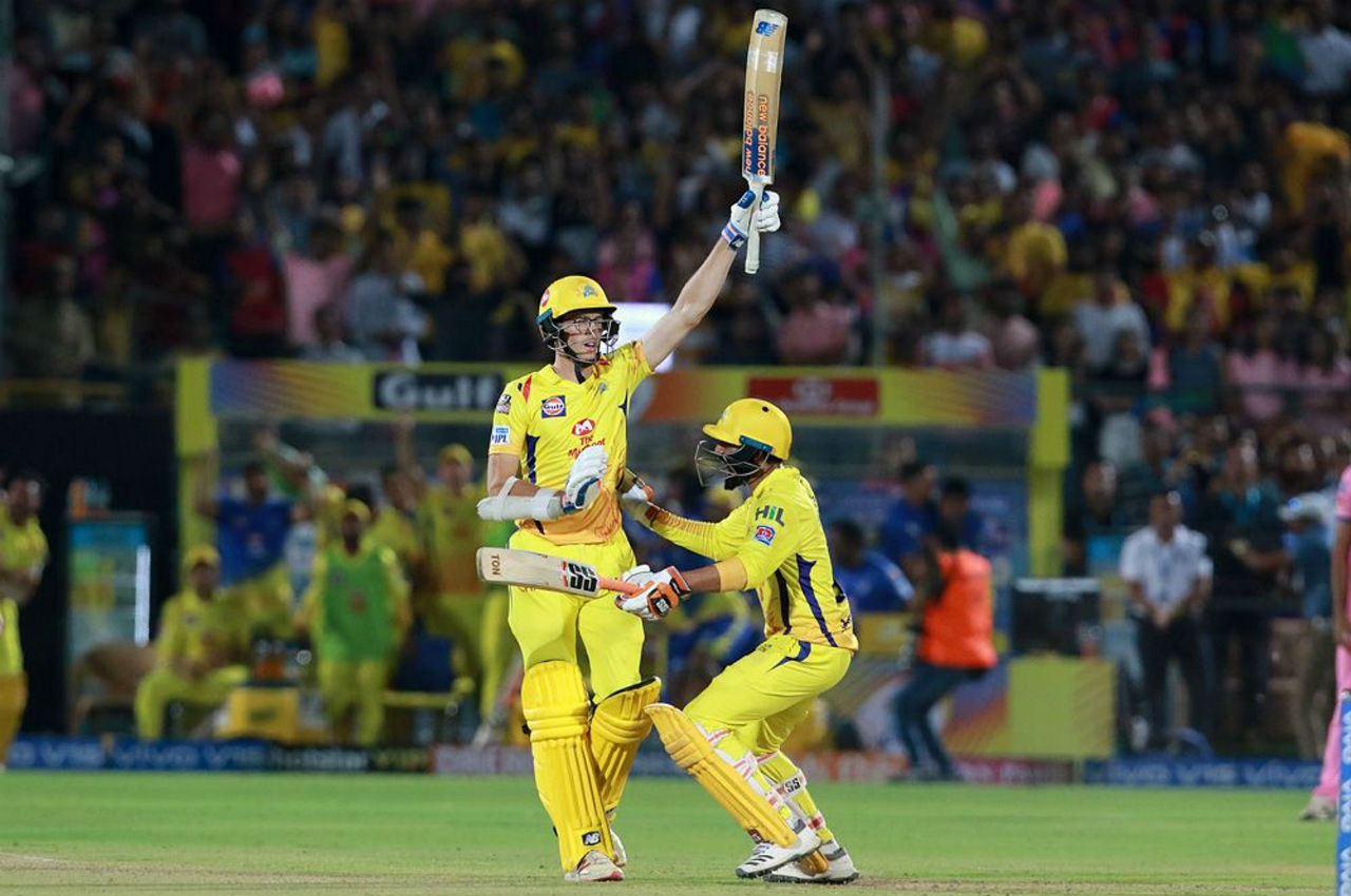 With 3 runs needed off the last ball, Santner hit a huge six to clinch a thrilling win for CSK.