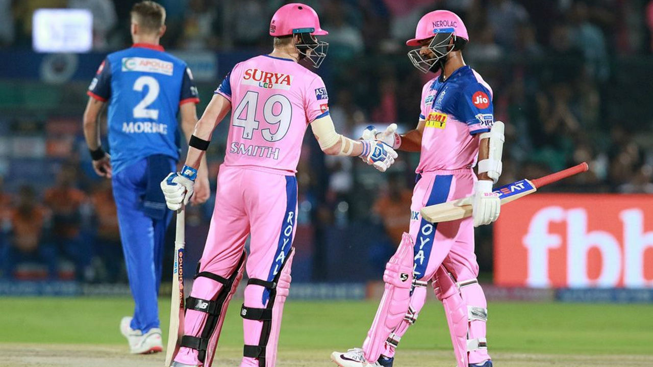 After the early blow Steve Smith and Ajinkya Rahane counter-attacked getting quick runs. The two stitched a 130-run partnership during the course of which Smith completed his fifty.