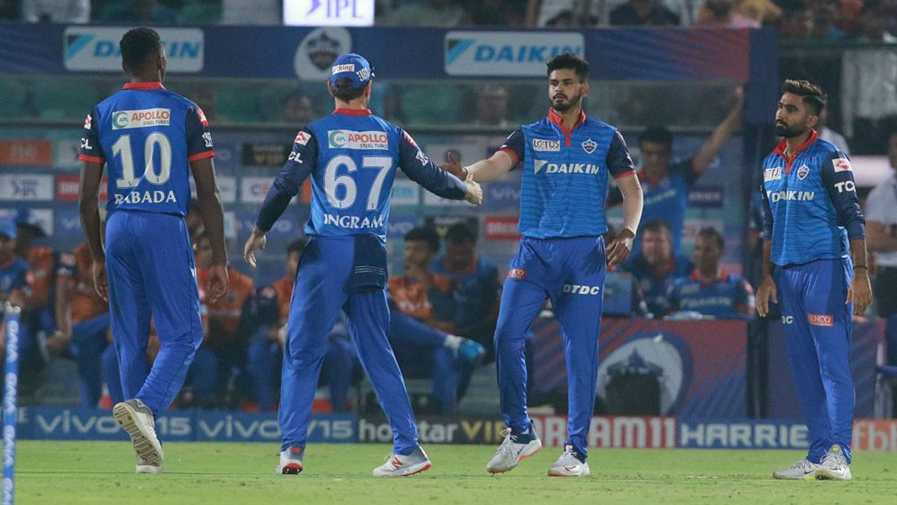 Delhi pace Kagiso Rabada picked 2 wickets in the final over of the Rajasthan's innings as the home team finished with a tall total of 191/6 in 20 overs. Rahane remained unbeaten on 105 from 63 balls.