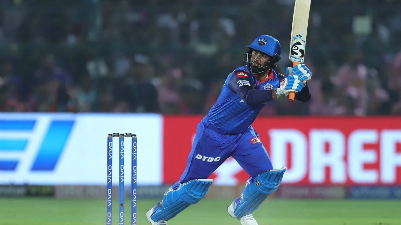 Pant had completed his fifty in the 16th over and the dynamic batsman did not throw his wicket away as Delhi took control of the chase.