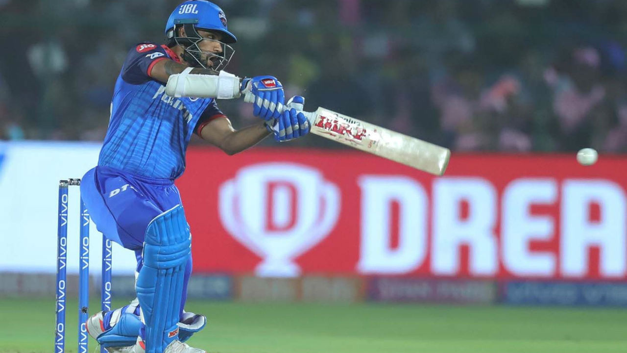 Rank 4 | Shikhar Dhawan (Delhi Capitals) | Matches: 15| Runs: 503 | Highest: 97* | Average: 35.92 | Strike Rate: 135.94 (Image: BCCI, iplt20.com)