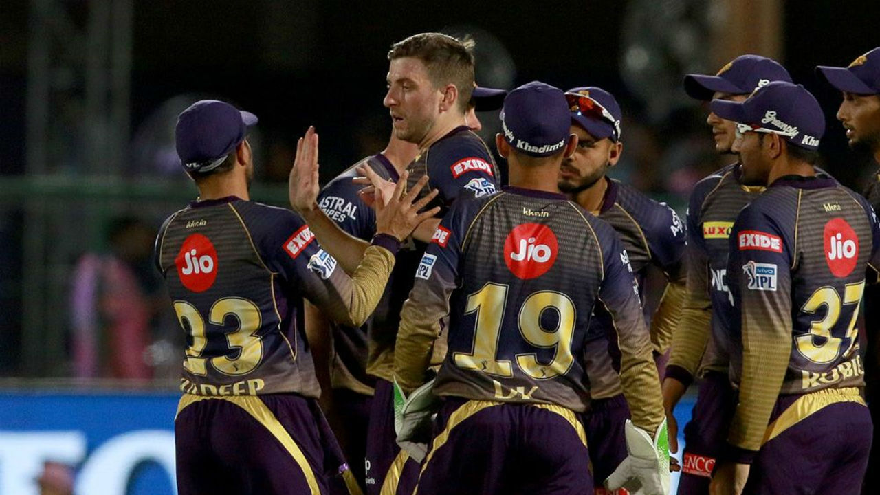 KKR's debutant Gurney dismissed Buttler in the 12th over. Buttler was deceived by a slower ball as he tried a big shot but only to be caught by Shubman Gill at the edge of the rope. Buttler made 37 off 34 balls.