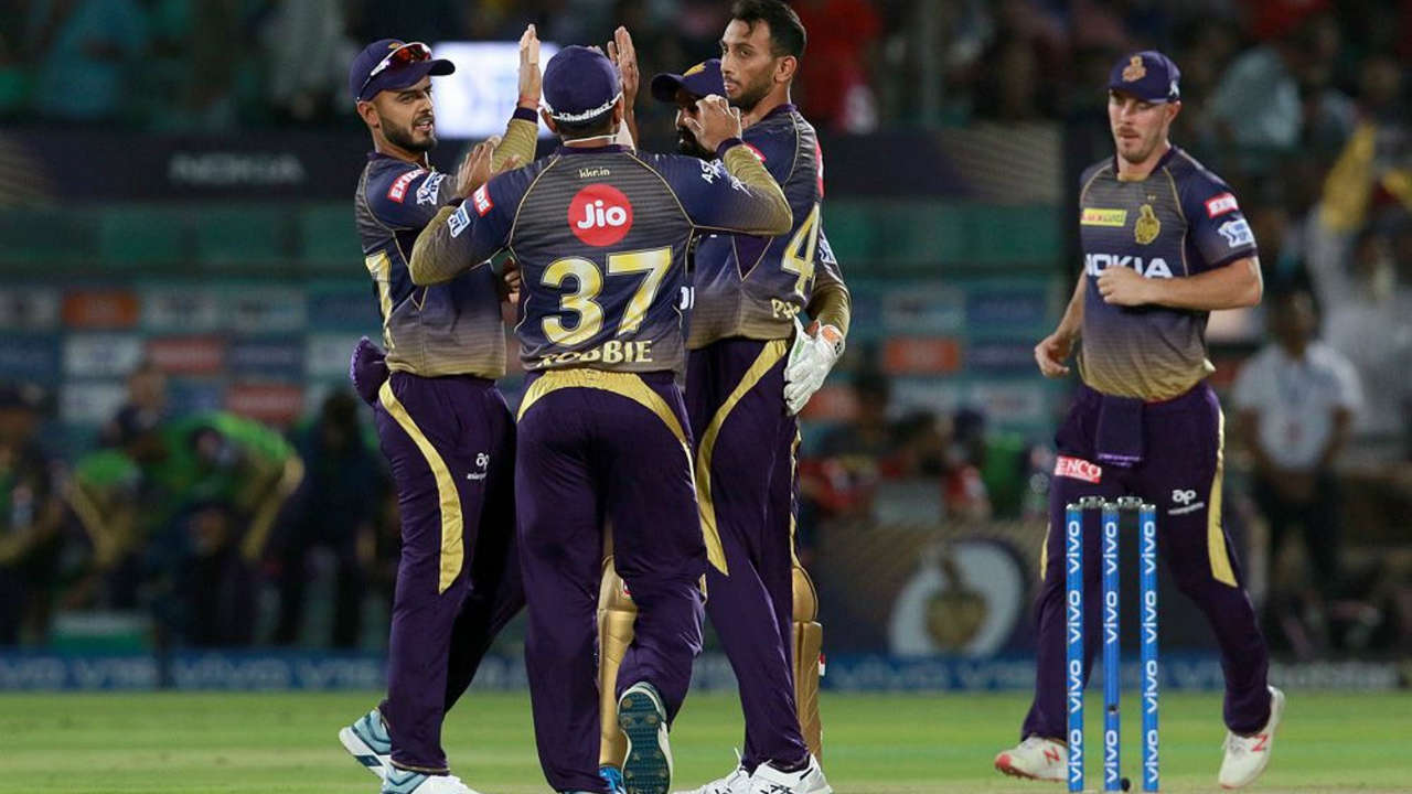 KKR pacer Prasidh Krishna got his team to a great start as he trapped RR captain Ajinkya Rahane in front of the wickets in just the 2nd over of the match. Rahane made just 5 runs as RR were 5/1.