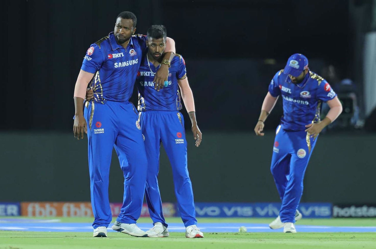 MI players rejoiced as Hardik Pandya run-out Parag in the 18th over. Ashton Turner's horror run in IPL continued as he was dismissed on yet another duck in the 19th over.