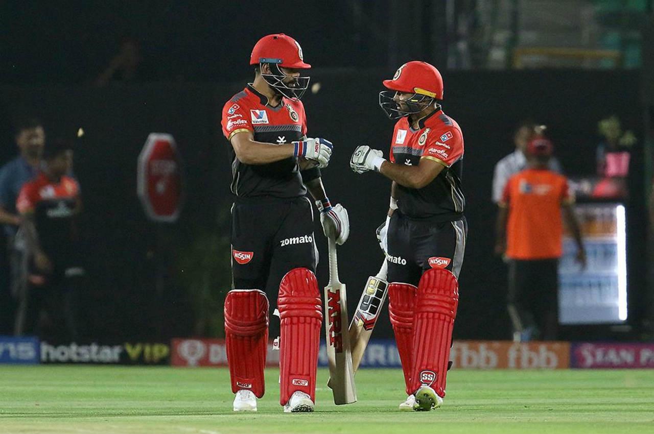 Virat Kohli and Parthiv Patel opened the batting for RCB and put up a 49-run partnership. (Image: BCCI, iplt20.com)