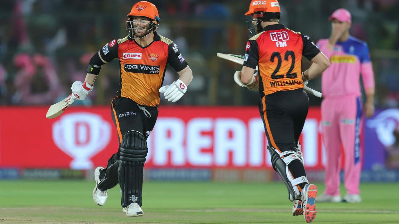With Bairstow gone, there was new a new opening pair for SRH. David Warner opened the innings with his captain Kane Williamson.