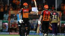 SRH vs KKR IPL 2019 match report: Bairstow and Warner lead Sunrisers to 9-wicket victory