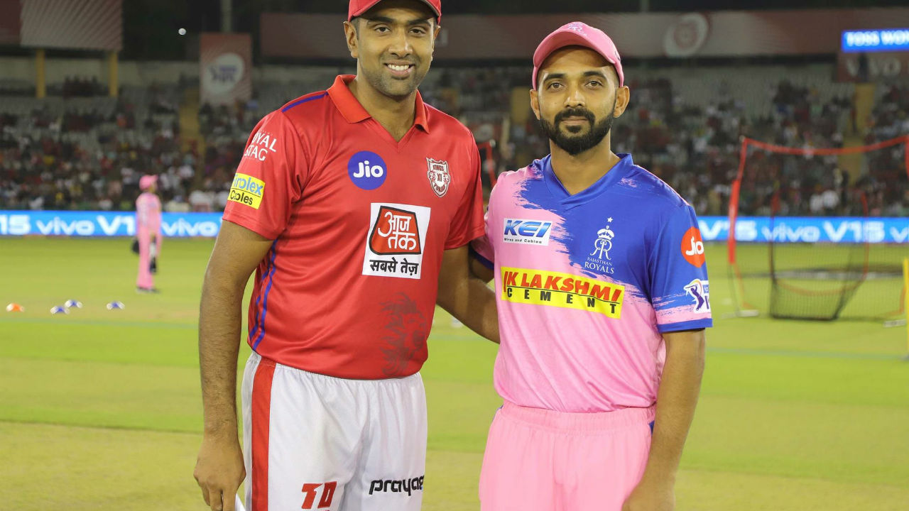 Kings XI Punjab met Rajasthan Royals for match 32 of the Indian Premier League 2019 at their home ground of Punjab Cricket Association IS Bindra Stadium, Mohali. RR skipper Ajinkya Rahane won the toss and opted to bowl first.