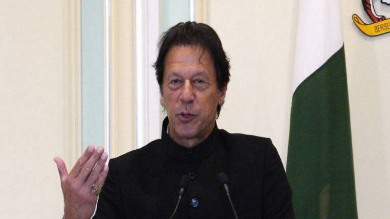 Pakistan PM Imran Khan (File photo)