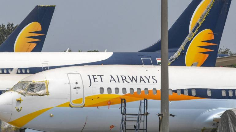 Jet Airways share price locked in upper circuit after Synergy Group resubmits EoI for acquisition - Moneycontrol.com thumbnail