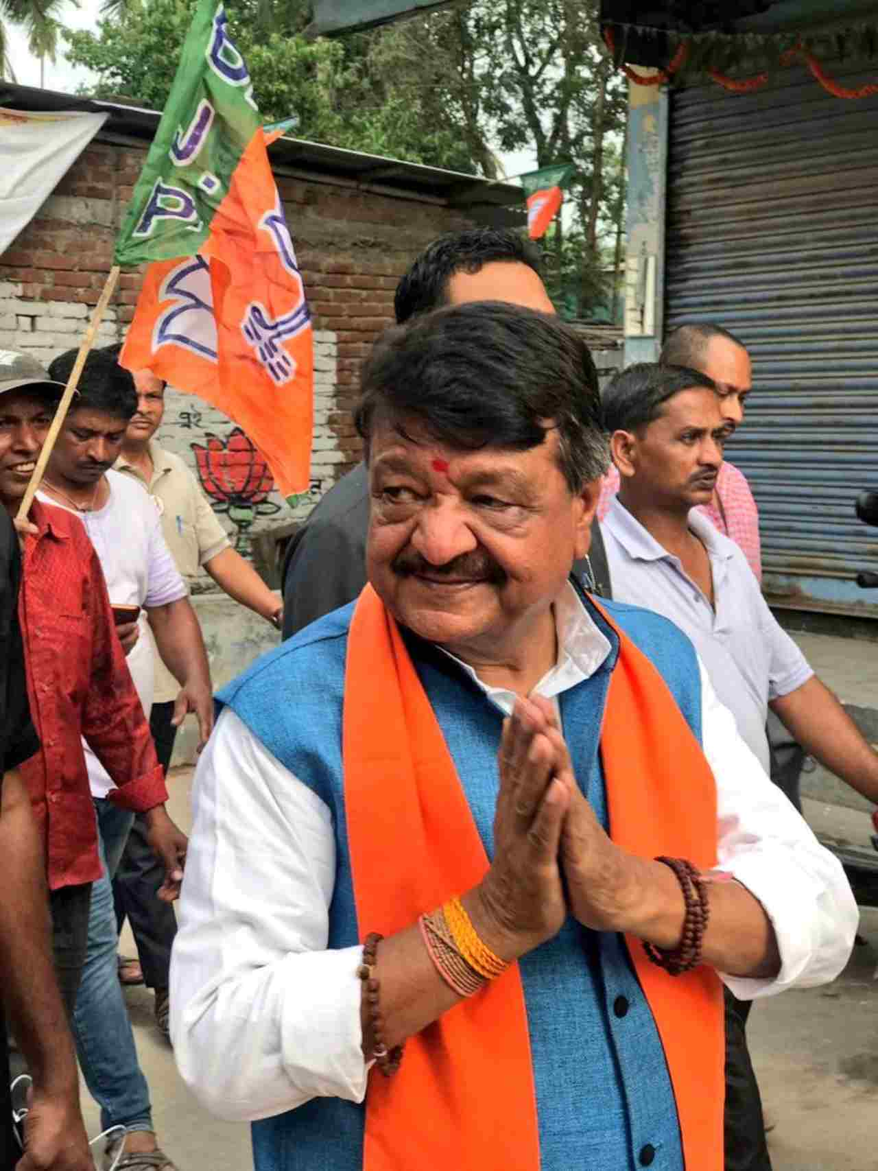 "Kailash Vijayvargiya | In an atrociuous sexist comment, BJP's Kailash Vijayvargia said ""….that's why they want to fight the elections using ""chocolatey"" faces...Priyanka would not have been brought into active politics if there was confidence within the Congress on (party chief) Rahul's leadership."" Vijayvargiya certainly refutes to attacking the credibility of the Congress leader by seemingly referring her as a ""chocolatey"" face. He then demeans Priyanka's stance in active politics by claiming that Congress' lack of confidence is the only reason for her entry into the party. (Image: Twitter)"
