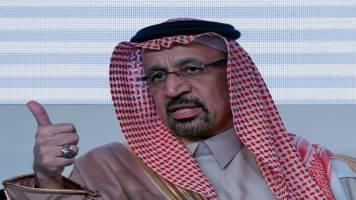 "Saudi Energy Minister Khalid al-Falih hopes OPEC agrees to extend production cut ""early July"""