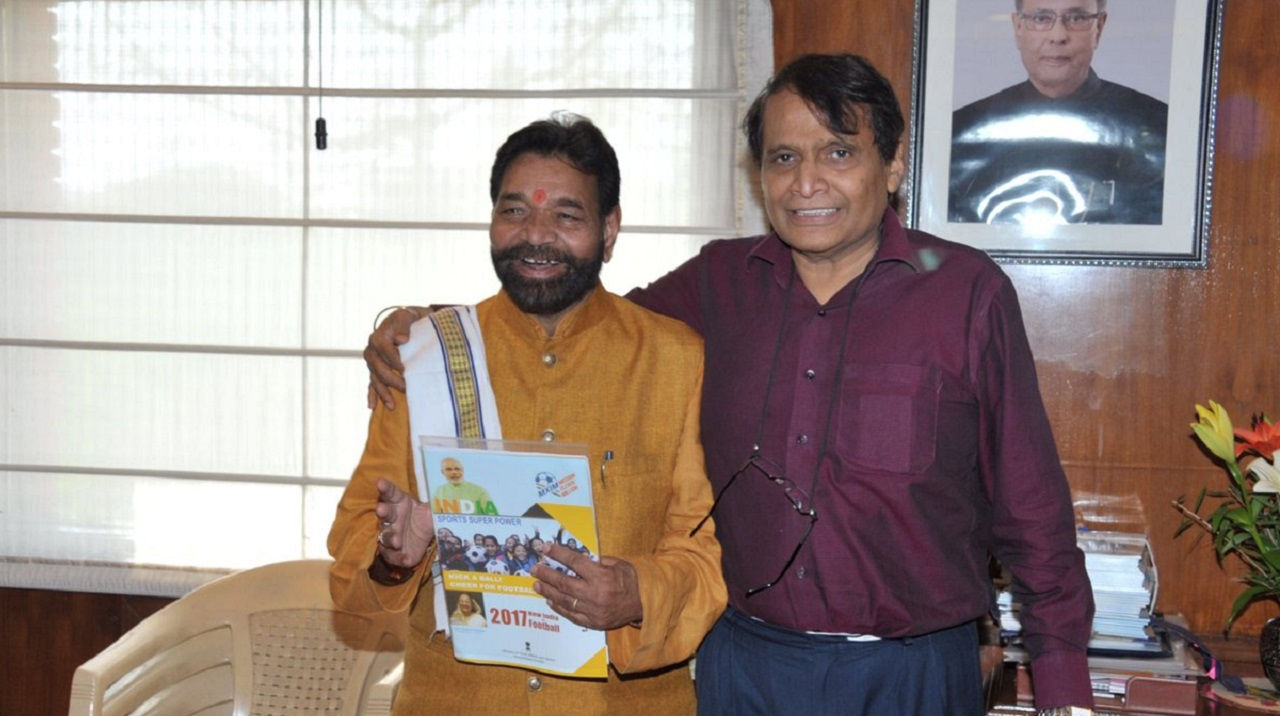 Dr Ramkrishna Kusmaria (Left) joined the Indian National Congress after being denied a party ticket by the Bharatiya Janata Party (Image: Twitter)