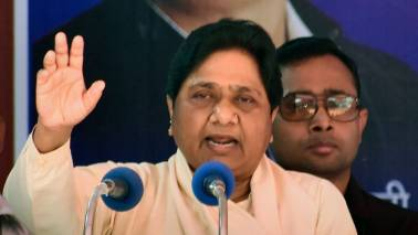Mayawati alleges votes going in BJP's account due to EVM malfunction