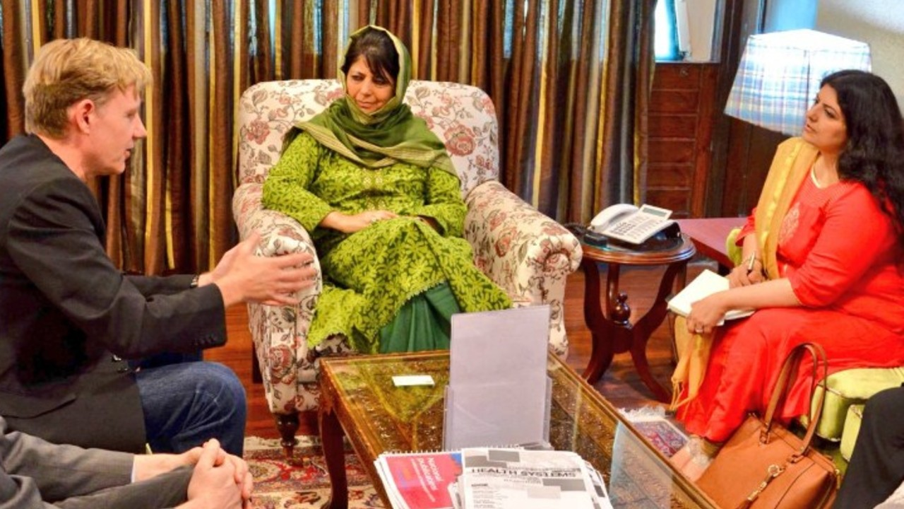 Mehbooba Mufti | J&K PDP | Net worth: Rs 88.13 lakh | Assets: Rs 88.13 lakh | Liabilities: NIL The former CM of Jammu and Kashmir has one of the most basic portfolios on the list. Nearly 62.4 percent of her assets is invested in real estate, and the rest is held in cash. Her portfolio has no exposure to either debt or equity, and the high liquidity indicates apathy towards wealth maximisation. (Image: Twitter/@MehboobaMufti)