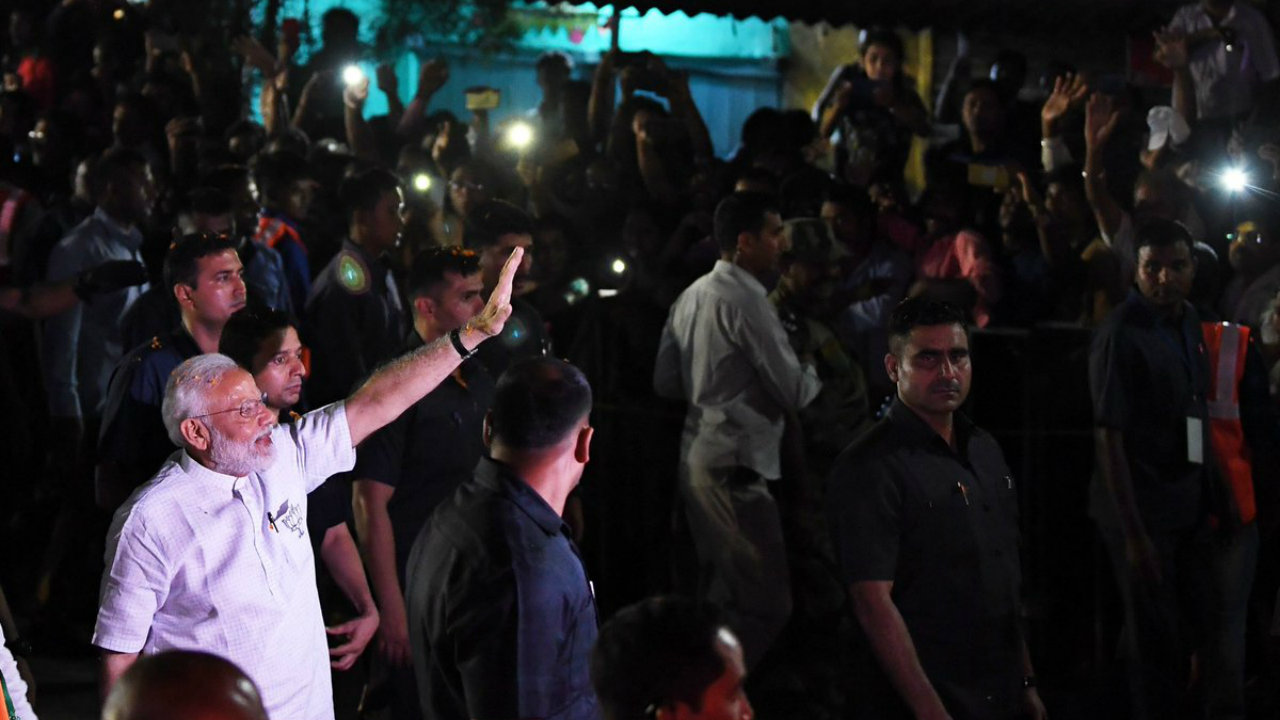 Campaign Trail 8 — With 4 days to go for Phase 4, political roadshows and rallies on a roll