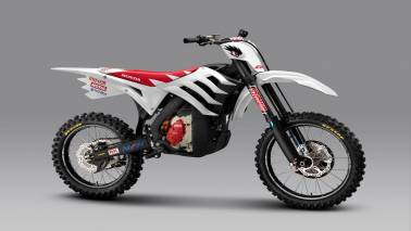 Mugen E-Rex is a dirt bike of the electric age