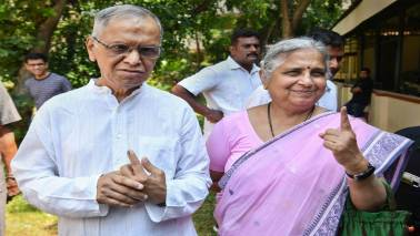 Increase in young voters turnout a positive sign for Indian electoral system: Narayana Murthy